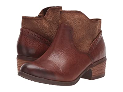 Comfortiva Corry (Whiskey Wild Steer/Cow Suede) Women