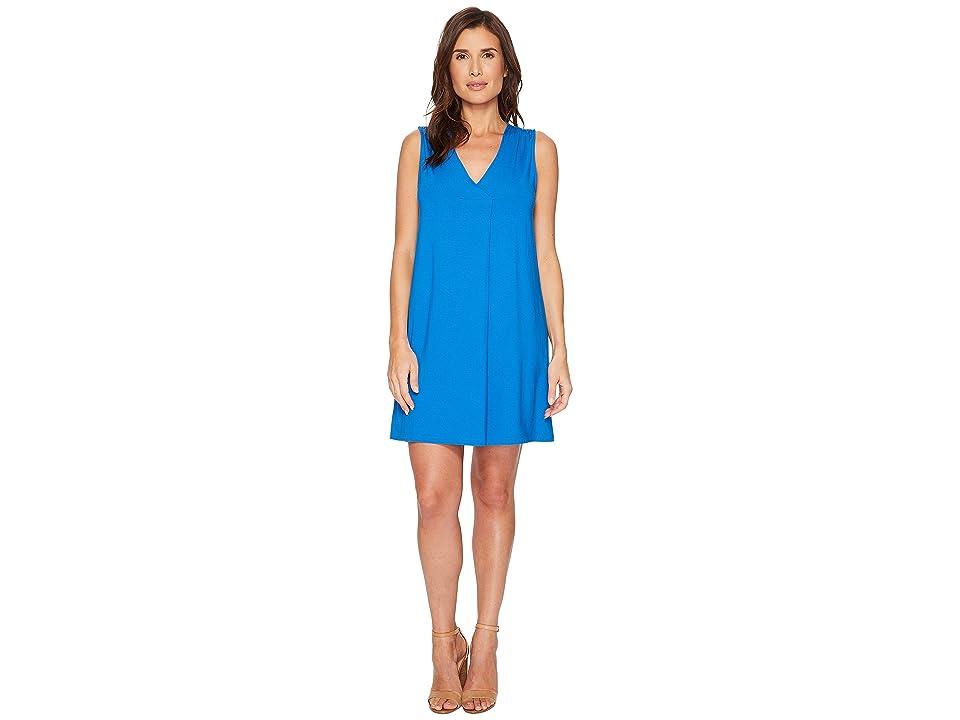 Lilla P Pleat Front Dress (Tide) Women