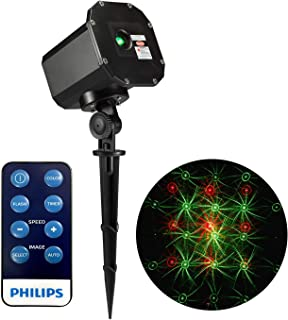 Philips MotionLaser Projector - Red/Green with Remote and 12 Selectable Patterns