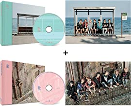 BTS Wings You Never Walk Alone Bangtan Boys Music (Left+Right Version Set) Album 2 CDs+2 Posters+2 Photobooks+2 Photocards+Gift (Extra 6 BTS Photocards Set)
