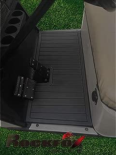 RockFox Outlet Golf Cart Floor Mat with EVA Environmentally Friendly Material. Luxury Floor Mat is A Great Choice to Dress Up Cart. (EZGO TXT, Dark Grey)