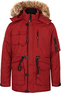 Tokyo Laundry Men's Padded Quilted Puffer Jacket