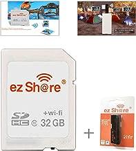 ez Share 8GB 16GB 32GB Card Adater WiFi SD Memory Card WiFi SDHC Class10 SD Card Wireless Camera Memory Card for Camera (16GB)