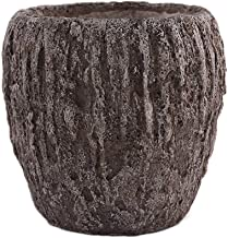Little Green House Cement Brown Vase - XXL