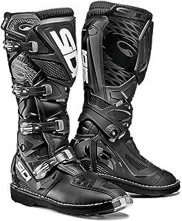 Sidi X-3 TA Off Road Motorcycle Boots Black US11.5/EU46 (More Size Options)