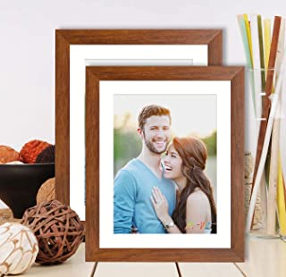 Art Street Synthetic Wood Brown Wall & Table Photo Frame Photo Size 6 x 8 inches ((Brown)
