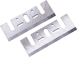planer blades HSS 3-1/4 inch - Replacement compatible with Makita N1900B DeWalt DW680 BOSCH 1594 - OXEMIZE