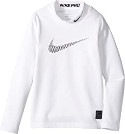 Nike Kids Pro Warm Mock Top (Little Kids/Big Kids)