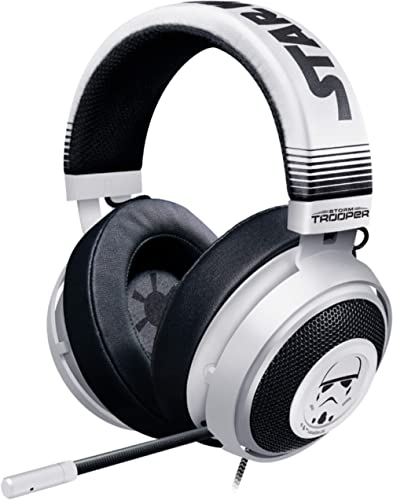 Razer Kraken Gaming Headset: Lightweight Aluminum Frame - Retractable Noise Isolating Microphone - For PC, PS4, PS5 S...