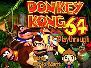 Donkey Kong 64 Playthrough With Mojo Matt