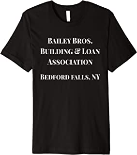 Bailey Bros Building and Loan Association Holiday T-Shirt
