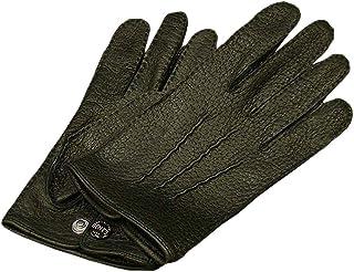 DENTS(デンツ) 15-1043 [ BLACK/ブラック ] ペッカリー (猪豚革) レザーグローブ(革手袋) [並行輸入品]