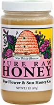 Bee Flower and Sun Honey - Star Thistle Blossom - Case of 12-1 lb.