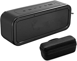 CMDZSW Speaker Portable Speaker 40W Speaker IPX7 Waterproof with Voice Assistant (Color : Add Bag)