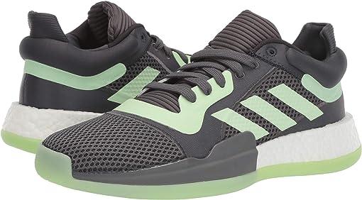 Carbon/Glow Green/Grey Five