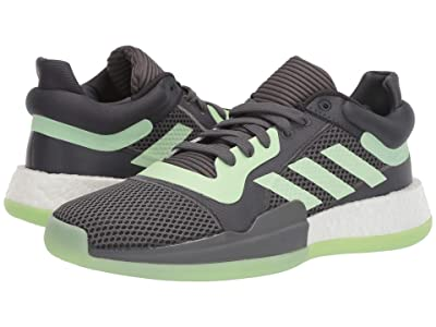 adidas Marquee Boost Low (Carbon/Glow Green/Grey Five) Men