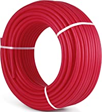 Happybuy 1/2 Inch PEX Tubing Potable Water Tube 300 FT PEX-B Plumbing Pipe Non-Barrier Radiant Heating Pex Coil for Water Plumbing Open Loop Hydronic Heating Systems (1/2