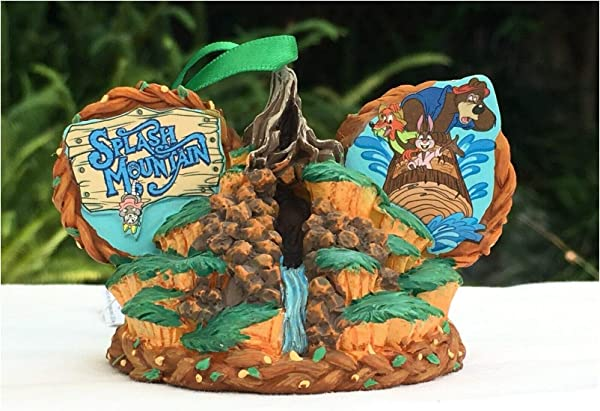 Parks Disney Splash Mountain Mickey Ears Ornament