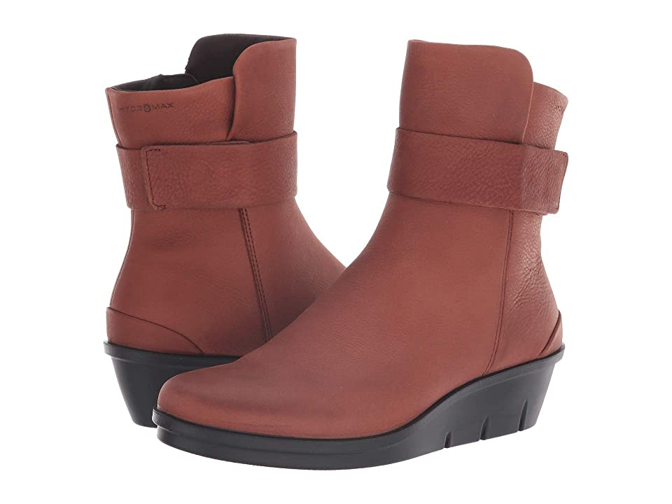 ECCO Skyler Hydromaxtm Boot (Brandy Cow Nubuck) Women