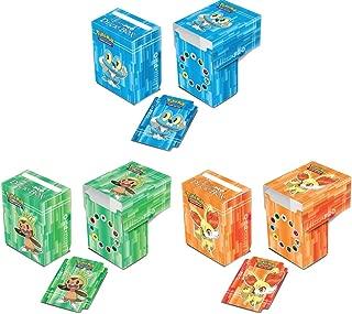 Ultra-Pro Blue Froakie Red Fennekin & Green Chespin XY Pokemon Deck Boxes, Set of 3