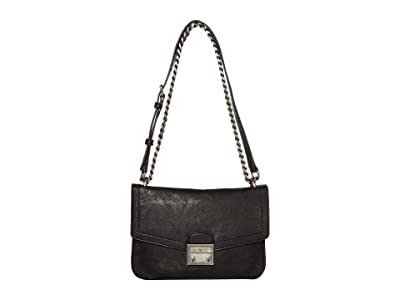 Frye Ella Crossbody (Black) Cross Body Handbags