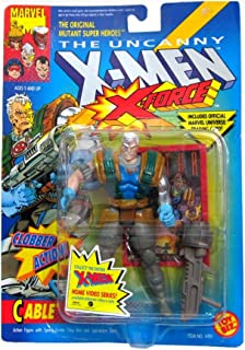 The Uncanny X Men X-Force Cable Figure with Clobber Action