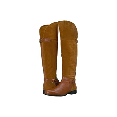 Naturalizer January (Camel/Brown Suede/Leather) Women