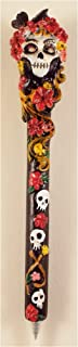 Resin Day Of The Dead Lady Sugar Skull Ink Pen Style #4