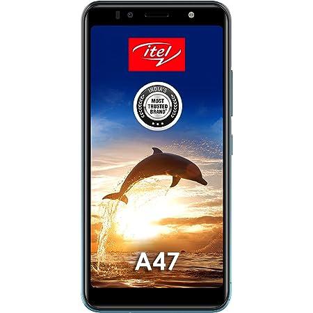 itel A47 (Ice Lake Blue, 2GB RAM, 32GB Storage, 5.5'' HD+ IPS Display)