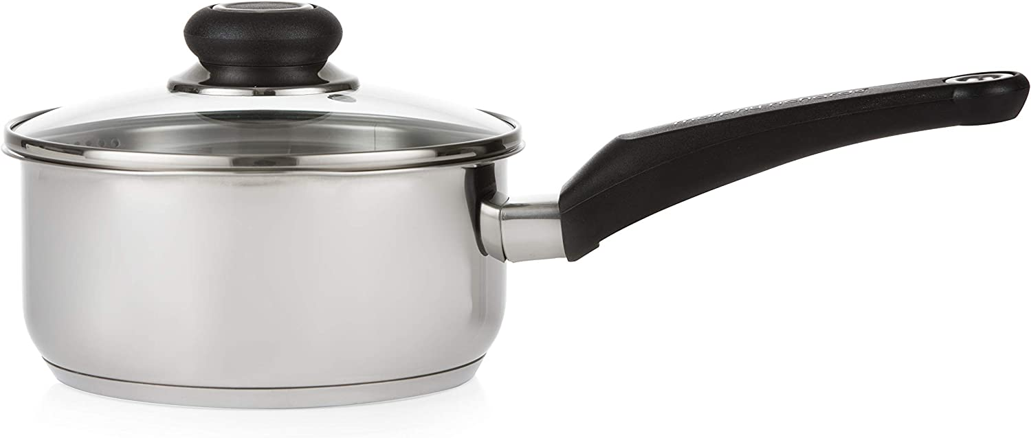 Morphy Richards Equip Pouring lowest price Saucepan Stainless Lid with Glass Import