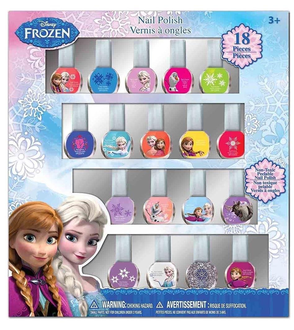 限りなく取り消す人口ディズニー アナと雪の女王 はがせるマニュキュア18本セット Disney Frozen Nail Polish (18p)