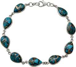 Best blue copper turquoise bracelet Reviews