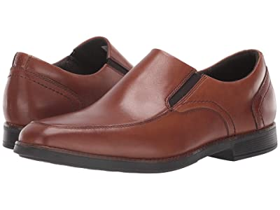 Rockport Slayter Slip-On (Cognac) Men