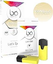 JWELL 電子タバコ リキッド BO caps (ボーキャップス) フレーバー 2個付き (Vanilla Ice Cream, 2個入り)
