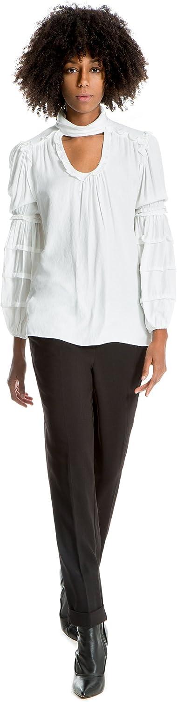Max Studio Stretch Woven Trousers