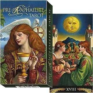 【鮮やかな色彩の中世のイメージ】プリ-ラファライト タロット 日本語解説書付き Pre-raphaelite tarot