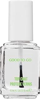 essie Top Coat Nail Polish, Good To Go Top Coat, Fast Dry + Shine, 0.46 Fl. Oz.