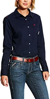 ARIAT Women's Flame Resistant Taylor Knit Work Shirt