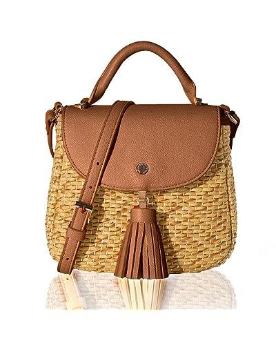 c59cb0b83c7 Woven Bags: Amazon.com