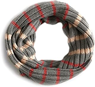 Women's - Ribbed Sweater Knit Infinity Scarf