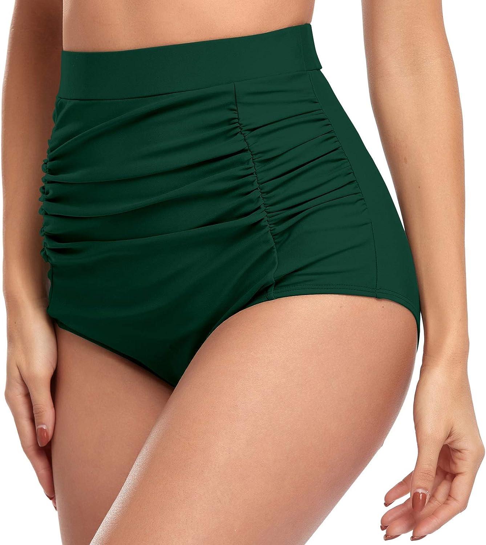 Aixy Womens High Waist Swim Boardshort Bottom Shorts Swimming Panty