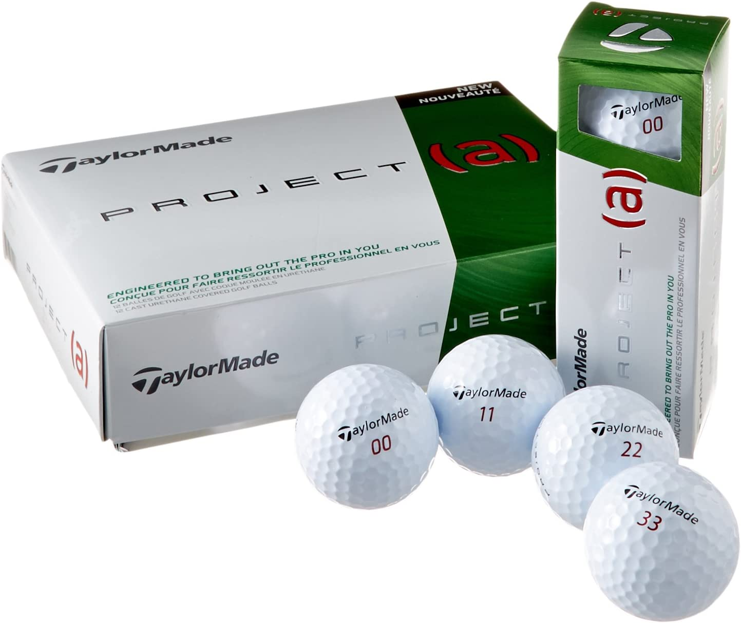 TaylorMade Max 60% OFF 2014 Sale Special Price Project a Balls - Golf White