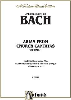 Bach Soprano and Alto Arias Vl.1