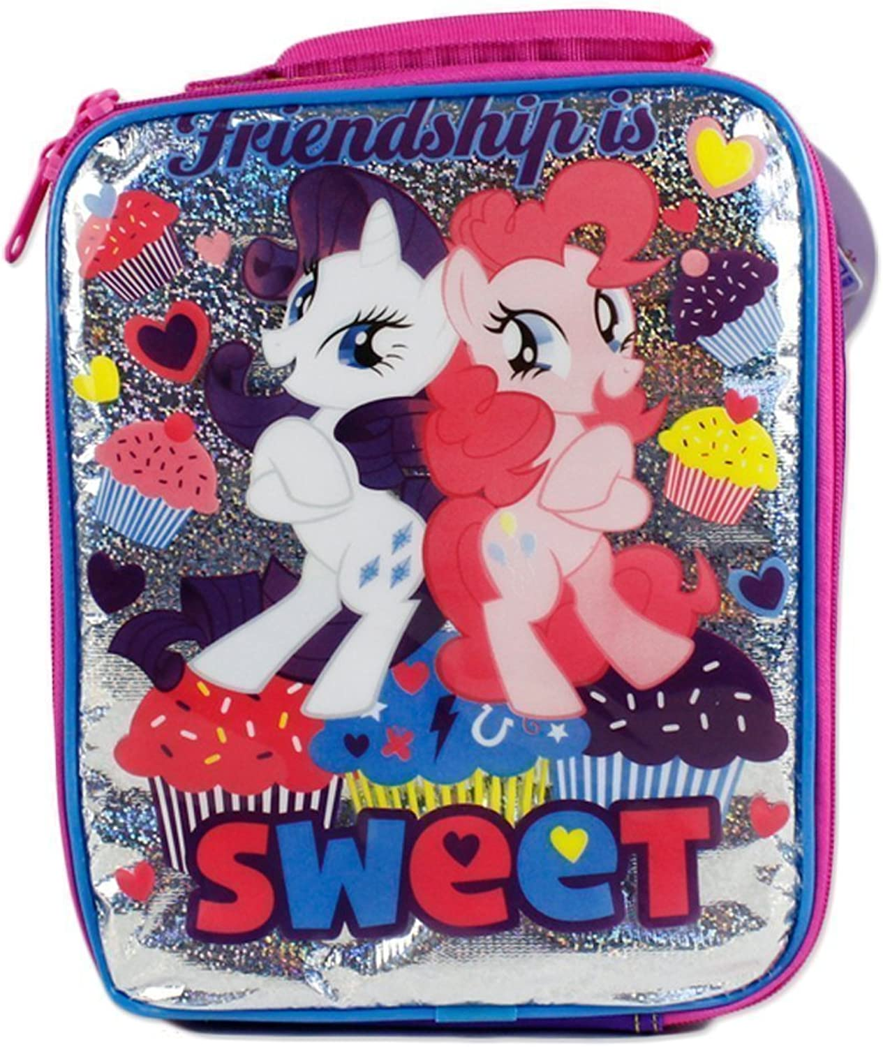 My Little Pony Friendship is Sweet Insulated School Lunch Snack Bag