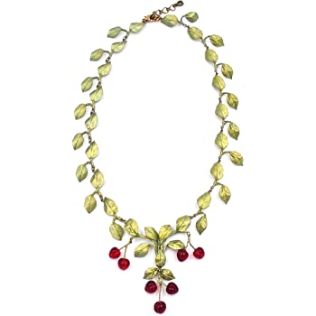 Michael Michaud Strawberry Necklace for Silver Seasons/… Ours Exclusively