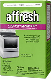 Affresh W11042470 Cleaning Kit (Cooktop Cleaner, Scraper Scrub Pads) (2-Pack)
