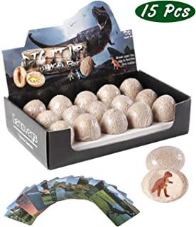 Dinosaur Eggs Toys Games Fossils, Dig It Up Kit, STEM Science Kits For 3 4 5 6 7 8 9 10 Year Olds Old Kids, Dino Birthday Party Supplies Favors Gifts, National Geographic Paleontologist Excavating