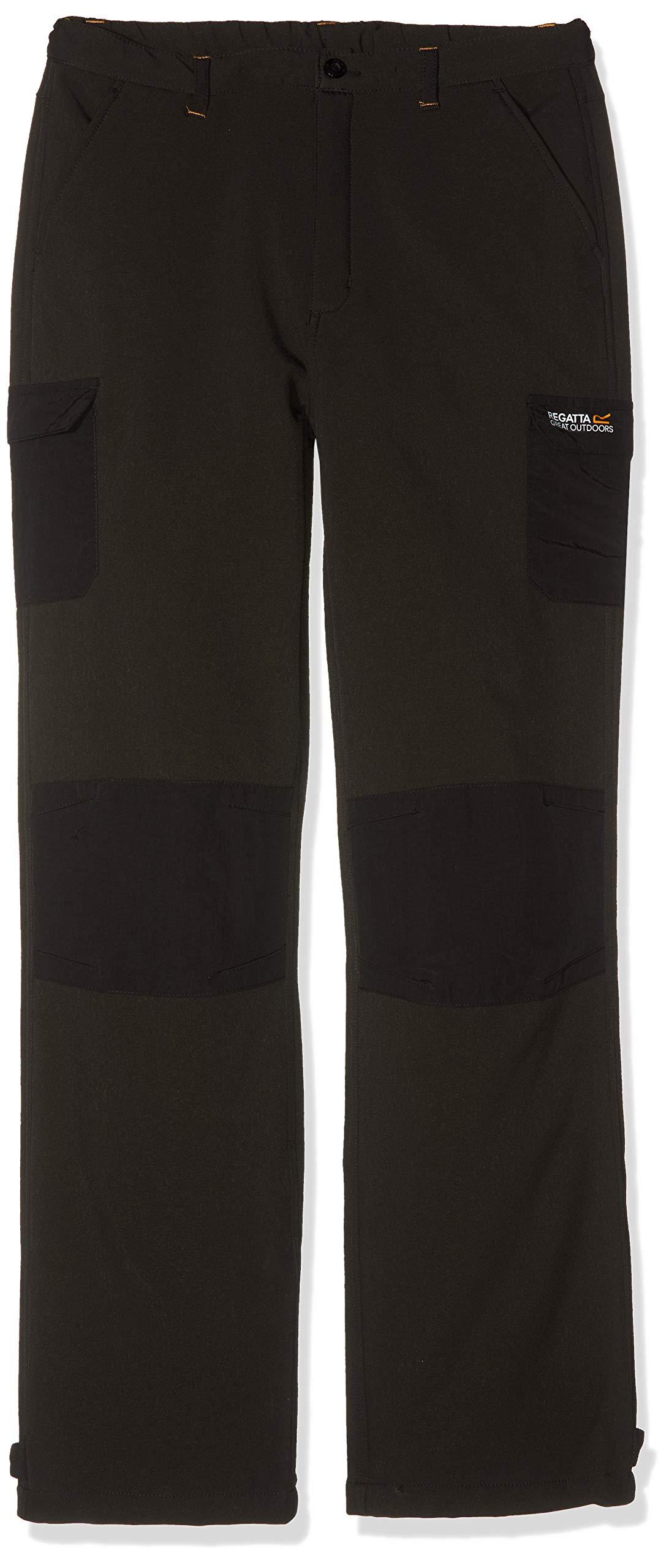 Regatta Winter Kinderhose, RKJ018, Schwarz, RKJ018 FR : L (Taille Fabricant : 11