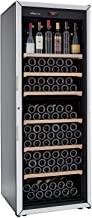 FRANCE CAVE – Cave à vin de vieillissement - Fabrication française – Grande capacité 213 bouteilles – 6 clayettes – Cave s...