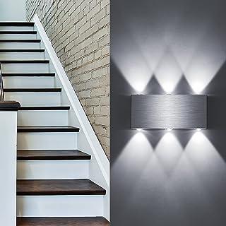 Lovebay 18W Applique Murale Interieur LED Up Down Lampe Murale en Aluminium 3000-6000K Décoration Lumière Mural pour Chamb...
